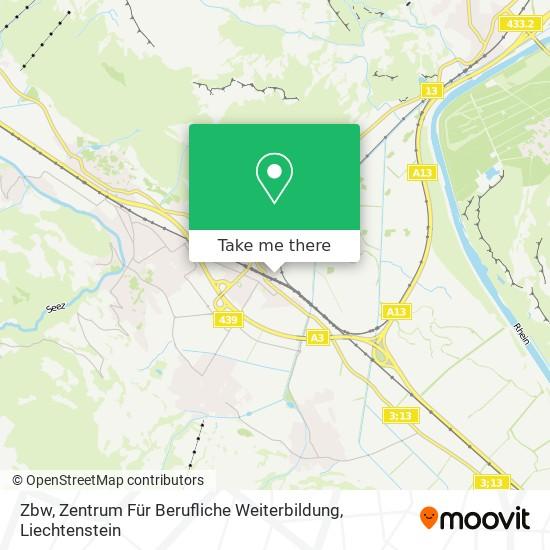 Zbw, Zentrum Für Berufliche Weiterbildung map