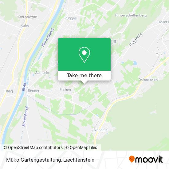 Müko Gartengestaltung map