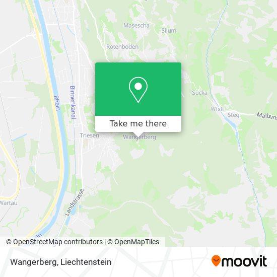 Wangerberg map