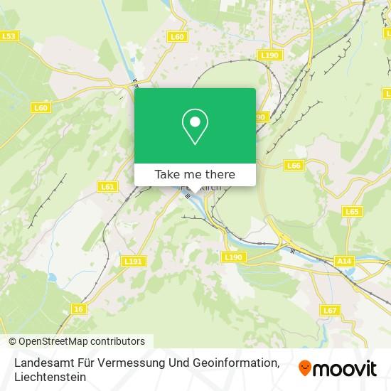 Landesamt Für Vermessung Und Geoinformation map