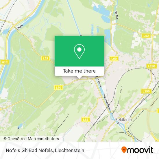 Nofels Gh Bad Nofels map