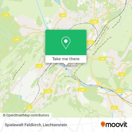 Spielewelt Feldkirch map