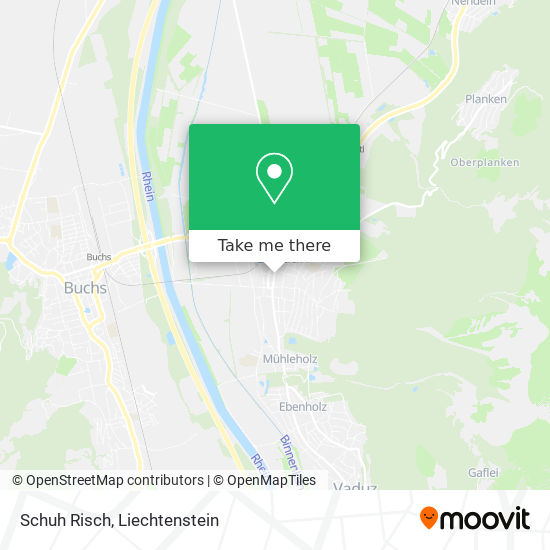 Schuh Risch map