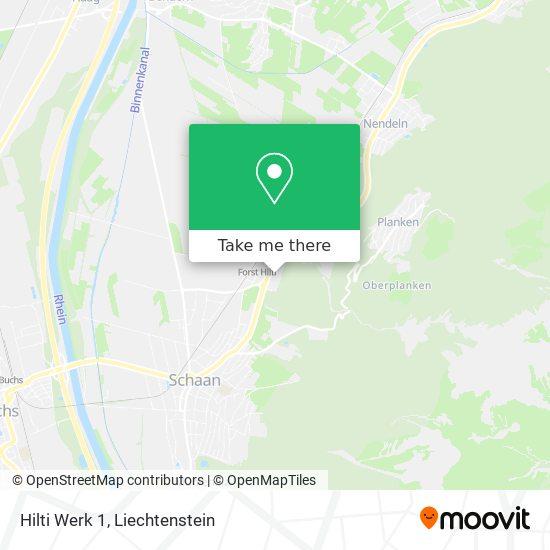 Hilti Werk 1 map