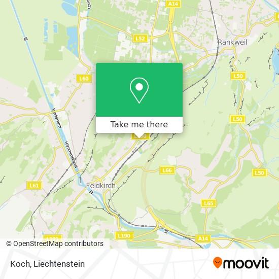 Koch map