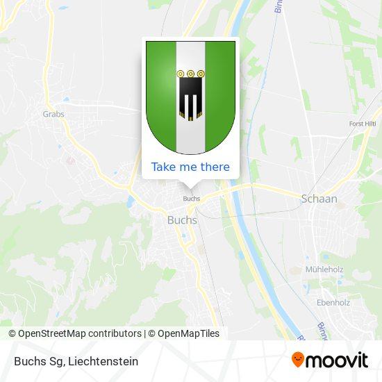 Buchs Sg map