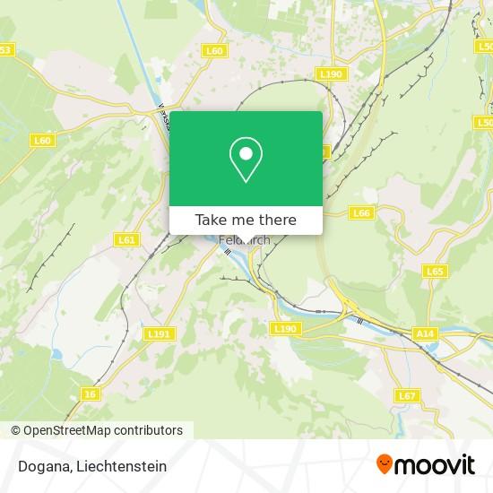 Dogana map