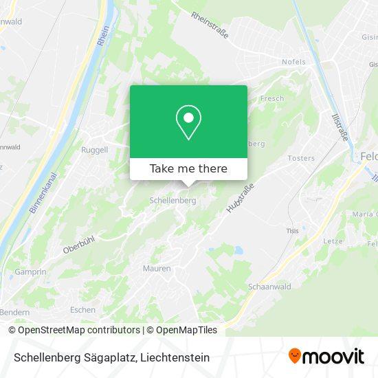 Schellenberg Sägaplatz map
