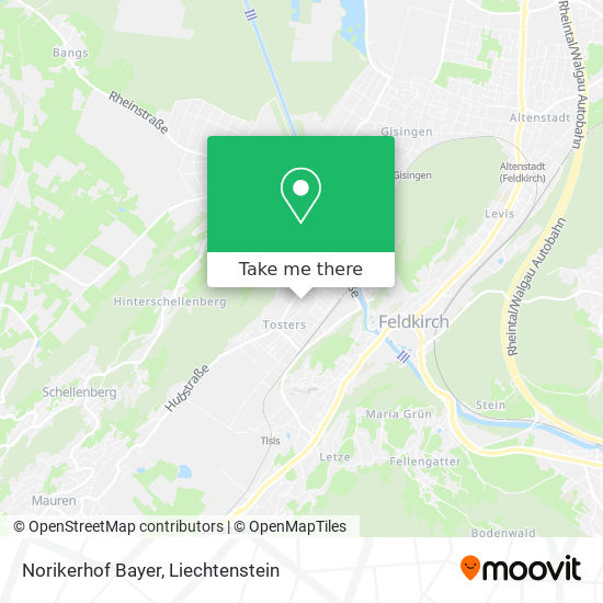 Norikerhof Bayer map