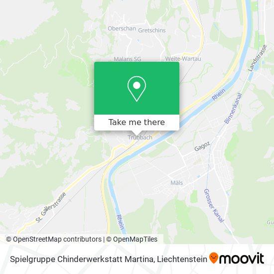 Spielgruppe Chinderwerkstatt Martina map
