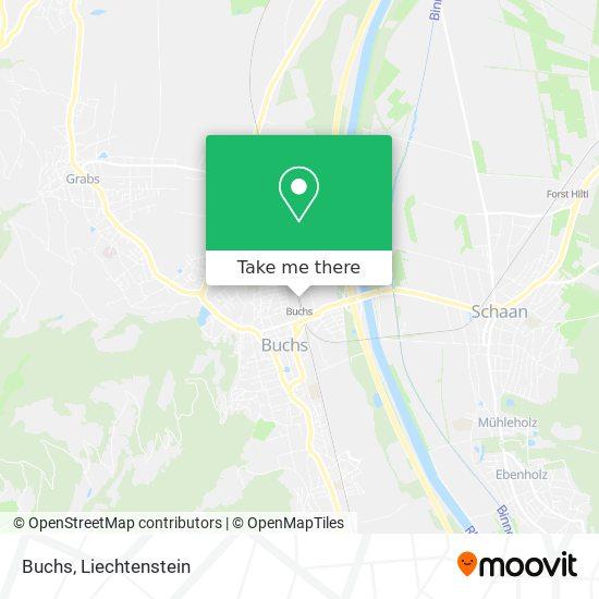 Buchs map