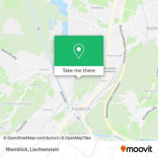 Rheinblick map