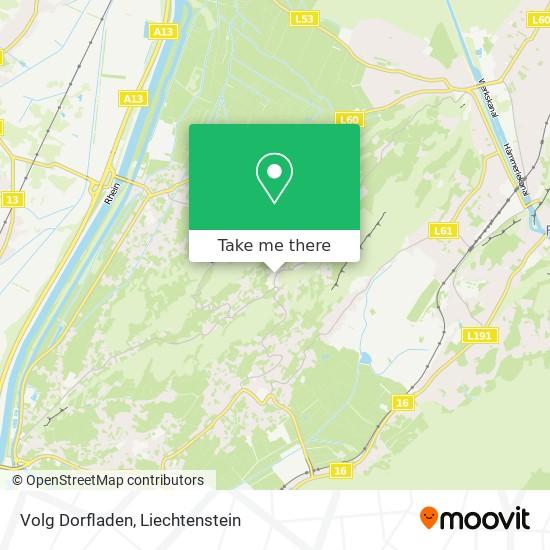 Volg Dorfladen map