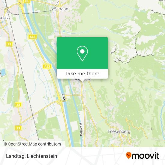 Landtag map