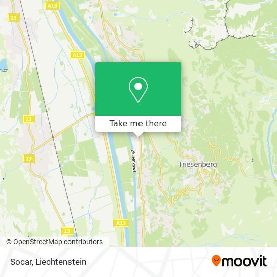 Socar map