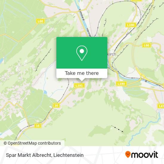 Spar Markt Albrecht map