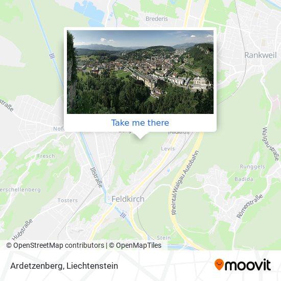 Ardetzenberg map
