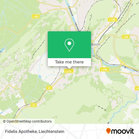 Fidelis Apotheke map