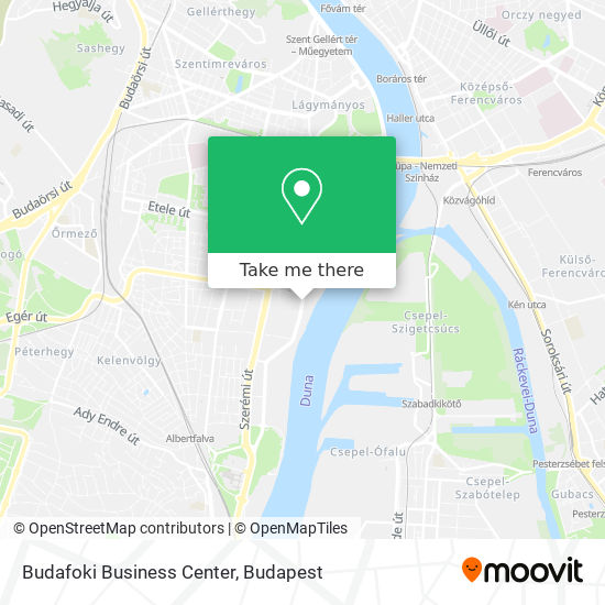 Budafoki Business Center map