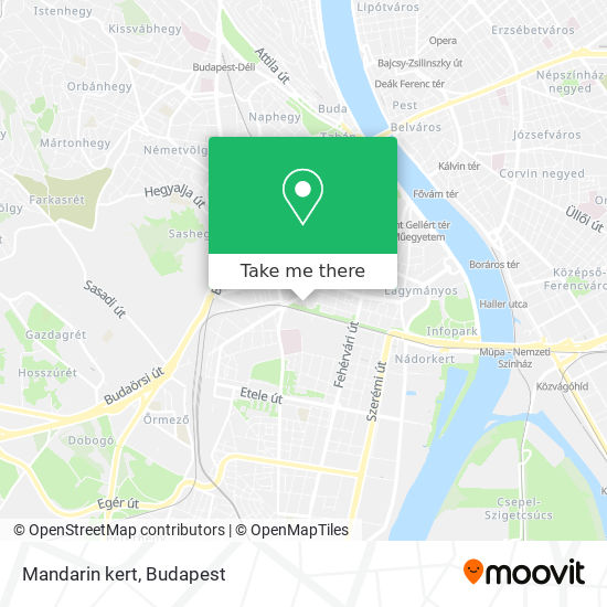 Mandarin kert map