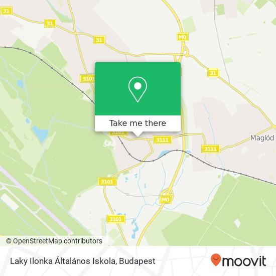 Laky Ilonka Általános Iskola map