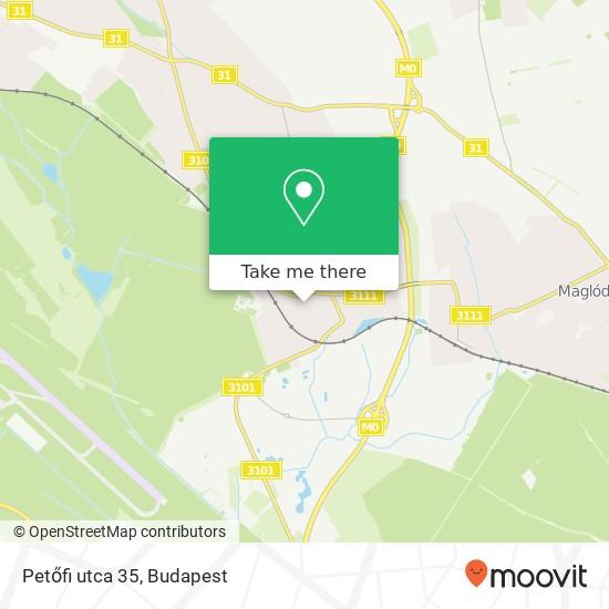 Petőfi utca 35 map