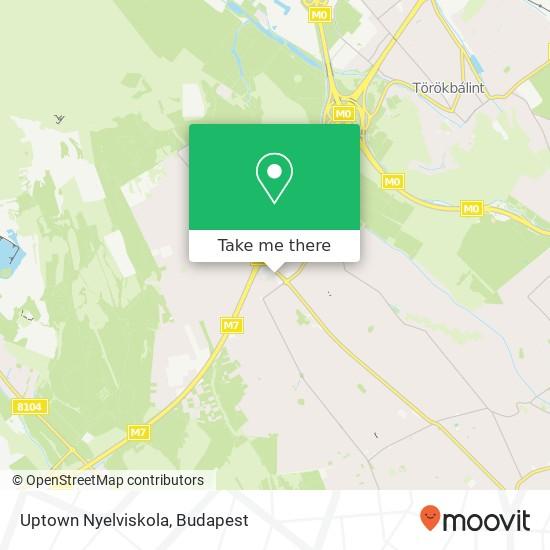 Uptown Nyelviskola Karte