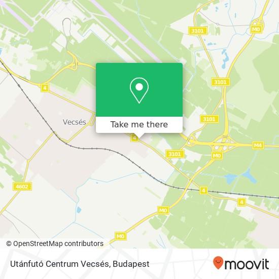 Mapa Utánfutó Centrum Vecsés