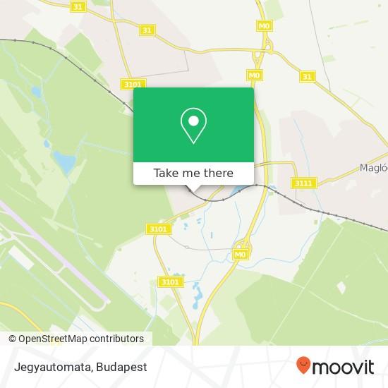Jegyautomata map