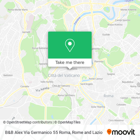 How To Get To B B Alex Via Germanico 55 Roma In Roma By Metro Bus Or Train Moovit