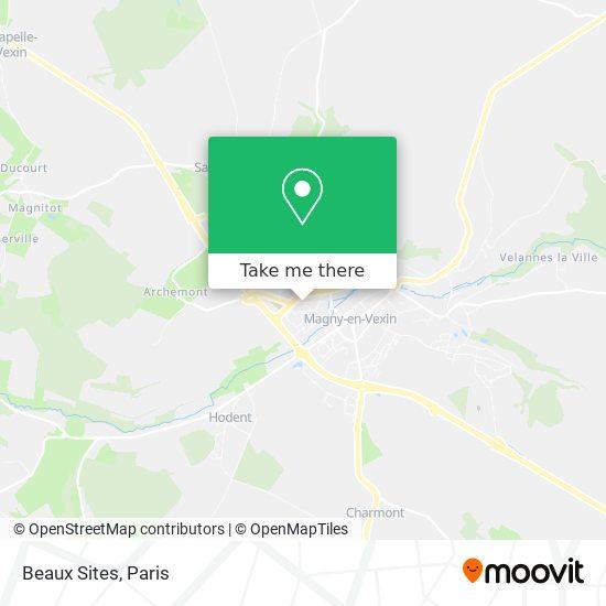 Mappa Beaux Sites