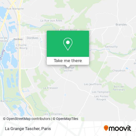 Mappa La Grange Tascher
