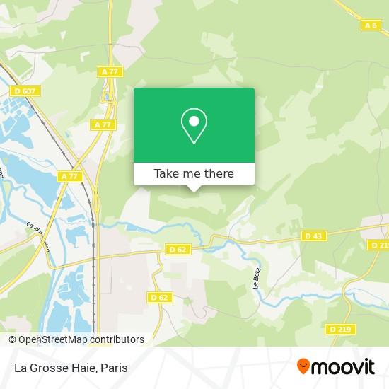 La Grosse Haie map