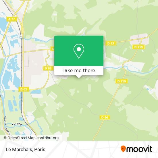 Mappa Le Marchais