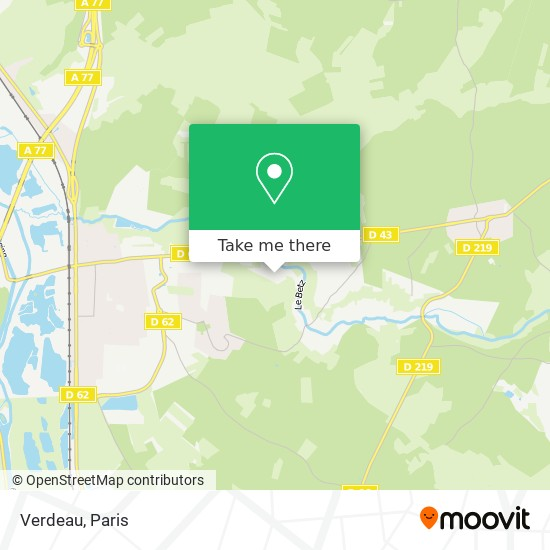 Mappa Verdeau