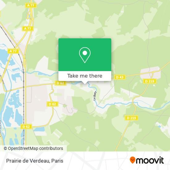 Mappa Prairie de Verdeau