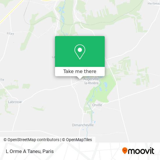 Mappa L Orme A Taneu