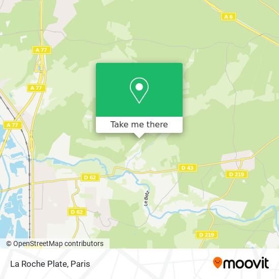 Mappa La Roche Plate