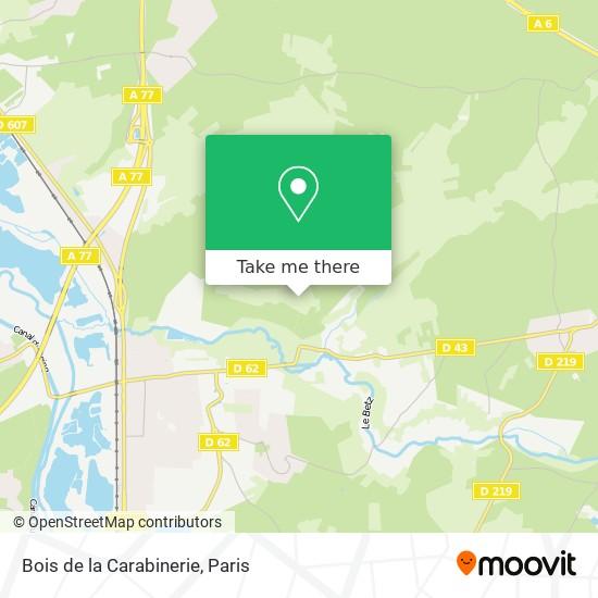 Mappa Bois de la Carabinerie