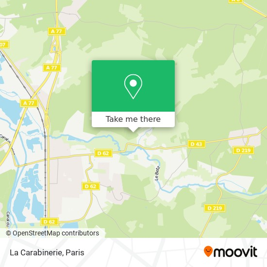 Mappa La Carabinerie