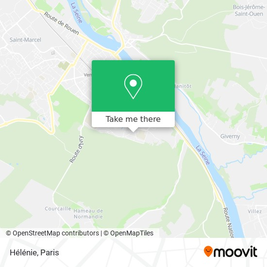 Mapa 3 Hélénie