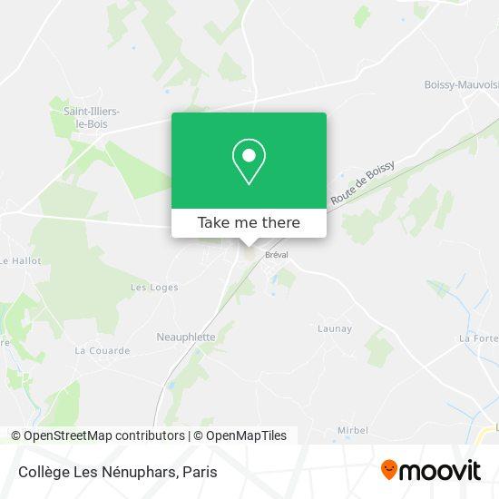 Mapa Collège Les Nénuphars