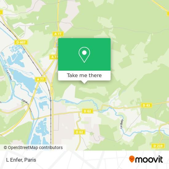 L Enfer map