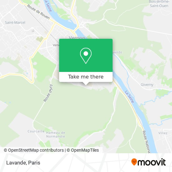 Mapa 1 Lavande