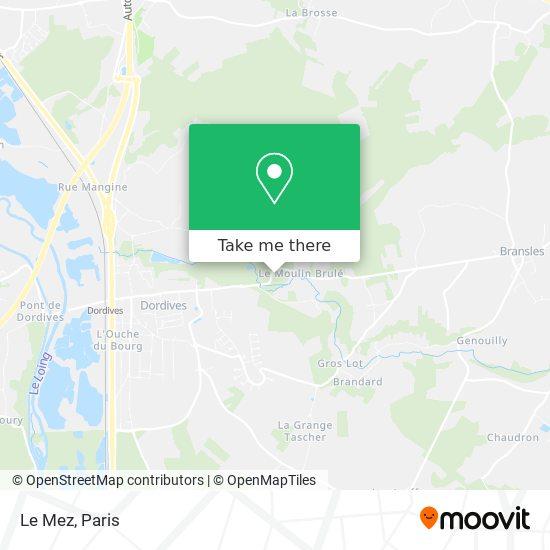 Mappa Le Mez