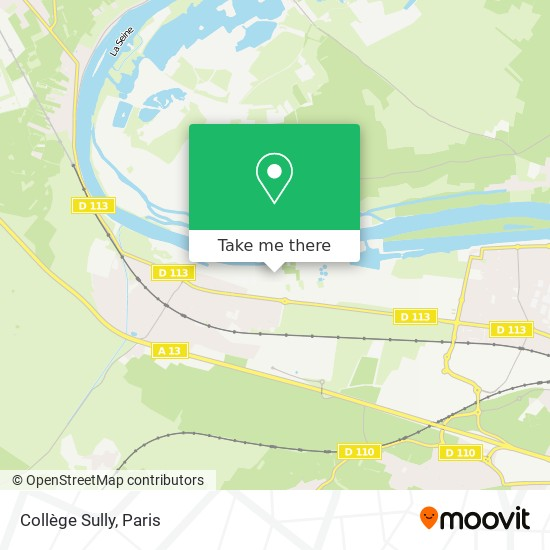 Collège Sully mapa