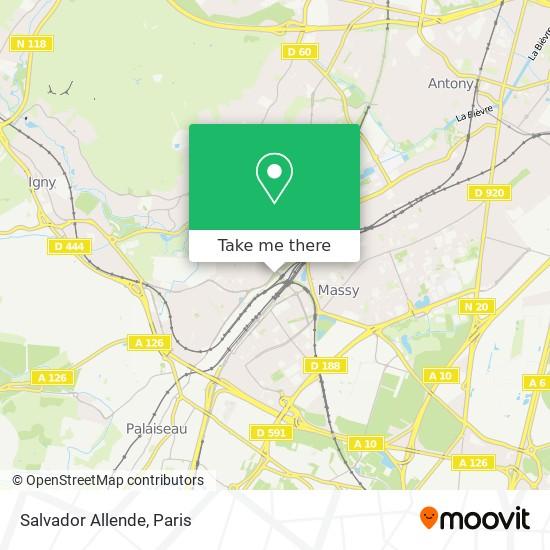 Salvador Allende map