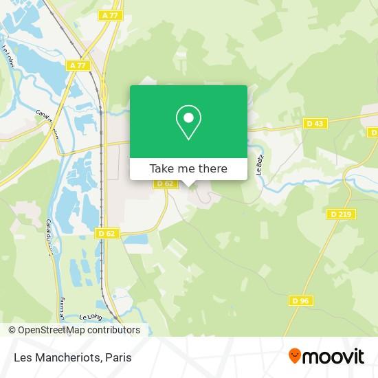 Mappa Les Mancheriots