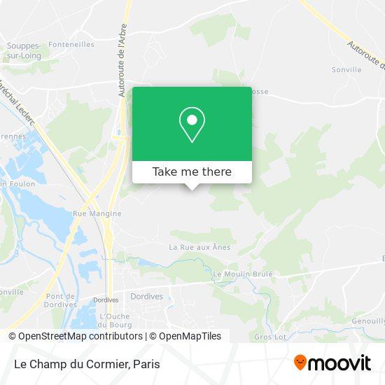 Le Champ du Cormier map
