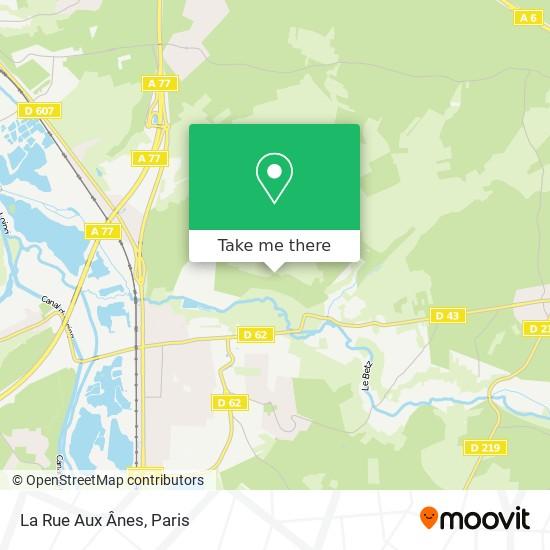 Mappa La Rue Aux Ânes
